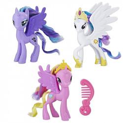 My Little Pony - Zestaw figurek kucyków - Księżniczki Celestia, Luna i Cadance E3265