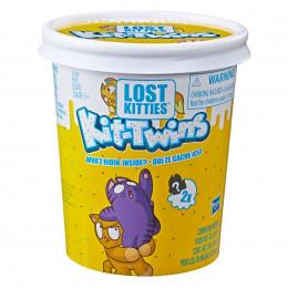 Lost Kitties - Kocie bliźniaki Kit Twins S2 - Kotki niespodzianki z ciastoliną E5086