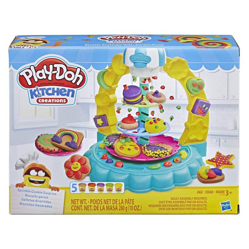 Ciastolina Play Doh Kuchnia Posypkowa Wieża Dekorowanie