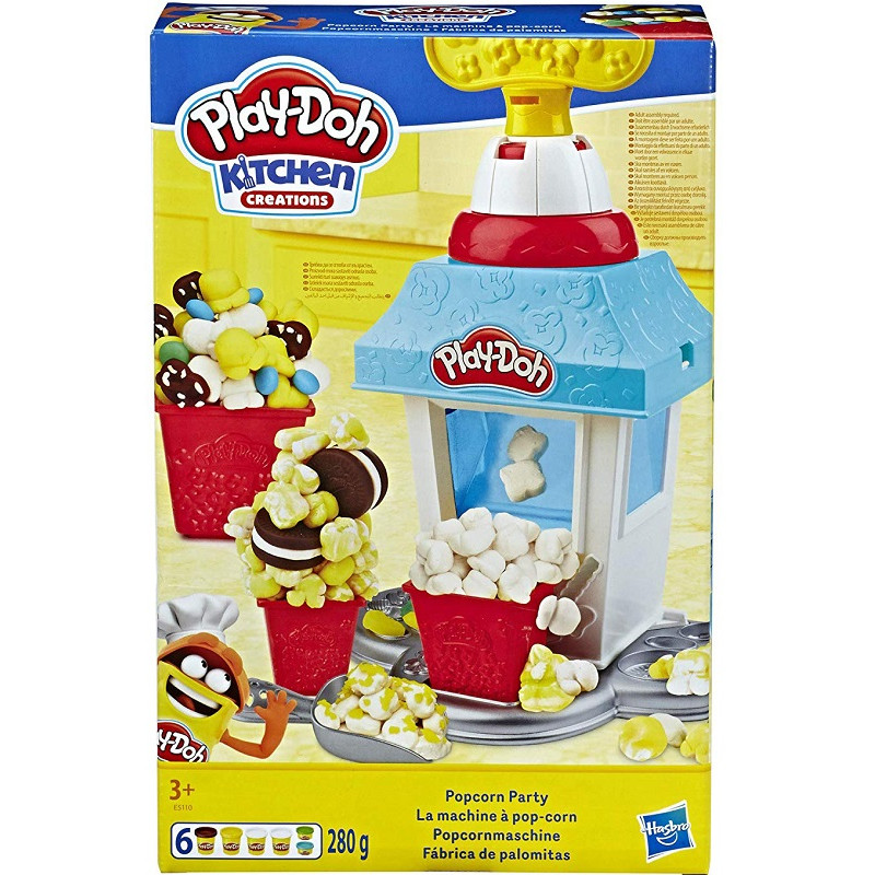 Ciastolina Play Doh Kitchen Kuchnia Popcornowa Impreza