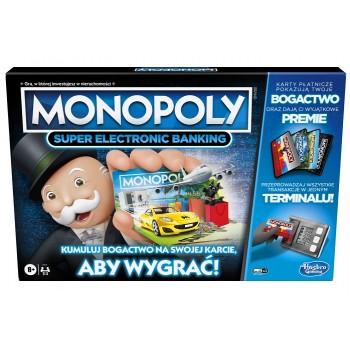 Hasbro – Gra strategiczna – Monopoly Super Electronic Banking E8978