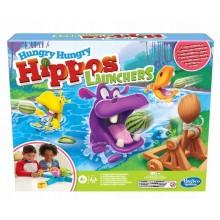 Hasbro – Gra zręcznościowa – Głodne hipcie z wyrzutnią E9707
