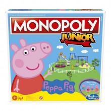 Hasbro – Gra Monopoly Junior Świnka Peppa – F1656