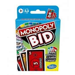 Hasbro – Gra karciana - Monopoly Bid F1699