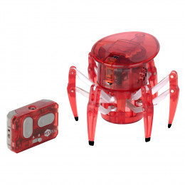 Hexbug Spider - Zdalnie sterowany pająk - Czerwony 451-1652