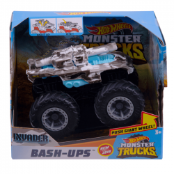 Hot Wheels – Monster Trucks Bash-Ups - Invader – GDR86