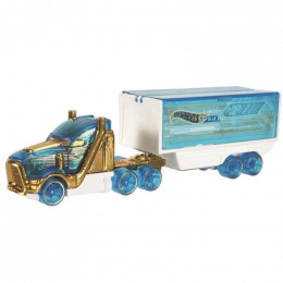 Hot Wheels - Cieżarówka - transporter Speed Hauler - Track Stars BFM71
