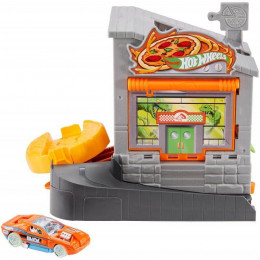 Hot Wheels City – Zakręcona Pizzeria z Dinozaurem – FMY95 GB790