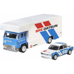 Hot Wheels Premium - '71 Datsun 510 i Fleet Flyer - Team Transport FLF56 FYT12