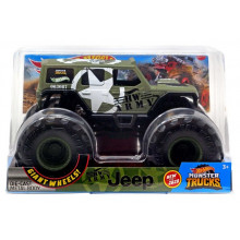 Hot Wheels - HW Army Jeep - Monster Truck 1:24 - GJG71