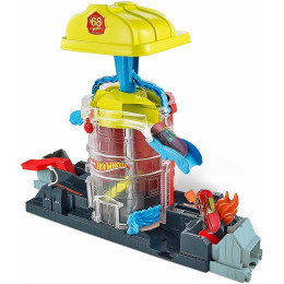 Hot Wheels City - Super Fire House Rescue - GJL06