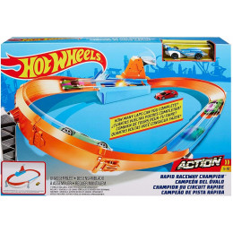 Hot Wheels - Rapid Raceway Champion - Tor Szybki Wyścig - GJM75