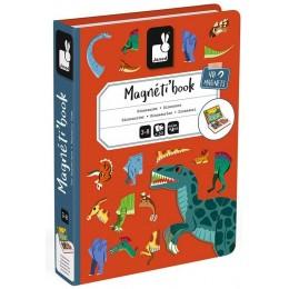 JANOD – Magnetyczna układanka – Magneti Book – Dinozaury J02590