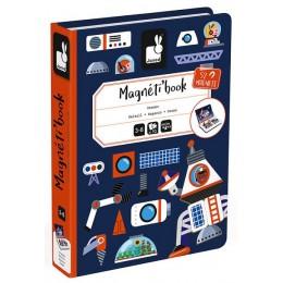 Janod - Magnetyczna układanka - Kosmos - Magneti Book J02589