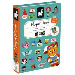Janod - Magnetyczna układanka - Świat Baśni - Magneti Book J02588