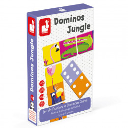 Janod - Domino XXL - Dżungla J02771
