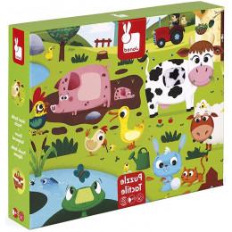 Janod - Puzzle Gigant 20el. - Dzień na farmie - J02772