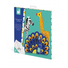 Janod - Papierowe zwierzęta 3D - J07785