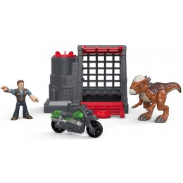 Jurassic World - Stygimoloch i Owen - Imaginext FMX90