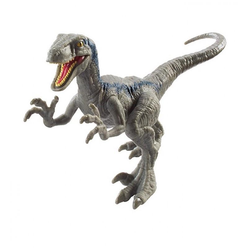 Jurassic World Figurka Atakujący Dinozaur Welociraptor Blue