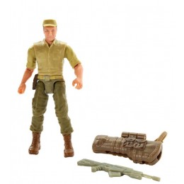 Jurassic World - Figurka Ken Wheatley z bronią - FVN23