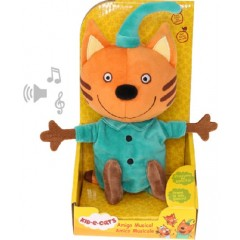 Kot-O-Ciaki Kid-E-Cats - Maskotka z dźwiękiem - Pudding - 35060
