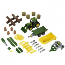 Klein John Deere – Traktor do skręcania MEGA Zestaw – 3907