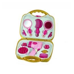 Klein Princess Coralie - Zestaw do stylizacji włosów - walizka - 5293