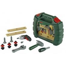 Klein - Walizka z narzędziami i wkrętarką na baterie Bosch - 8384