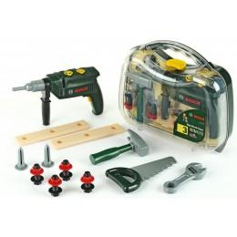 Klein Bosch - Walizka z wiertarką i narzędziami - 8416