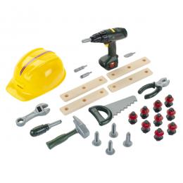 Klein Bosch - Mega zestaw narzędzi do majsterkowania - Wkrętarka 8418