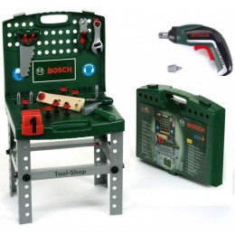 Klein Bosch - Warsztat z narzędziami w walizce - Wkrętarka Ixolino - 8686