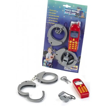 Klein – Zestaw policyjny z telefonem 8860