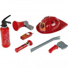Klein - Zestaw małego strażaka - Gaśnica, kask i akcesoria 8967