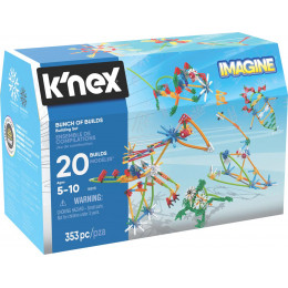 K'Nex Imagine - Klocki konstrukcyjne 353 el. - Konstrukcje 18818