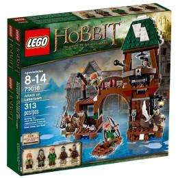 Klocki LEGO Hobbit 79016 Atak na miasto na jeziorze