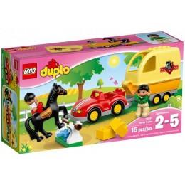 Klocki LEGO DUPLO 10807 Przyczepa dla Koni