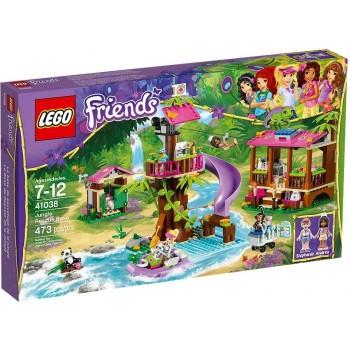 Klocki LEGO Friends 41038 Dżungla Baza Ratownicza