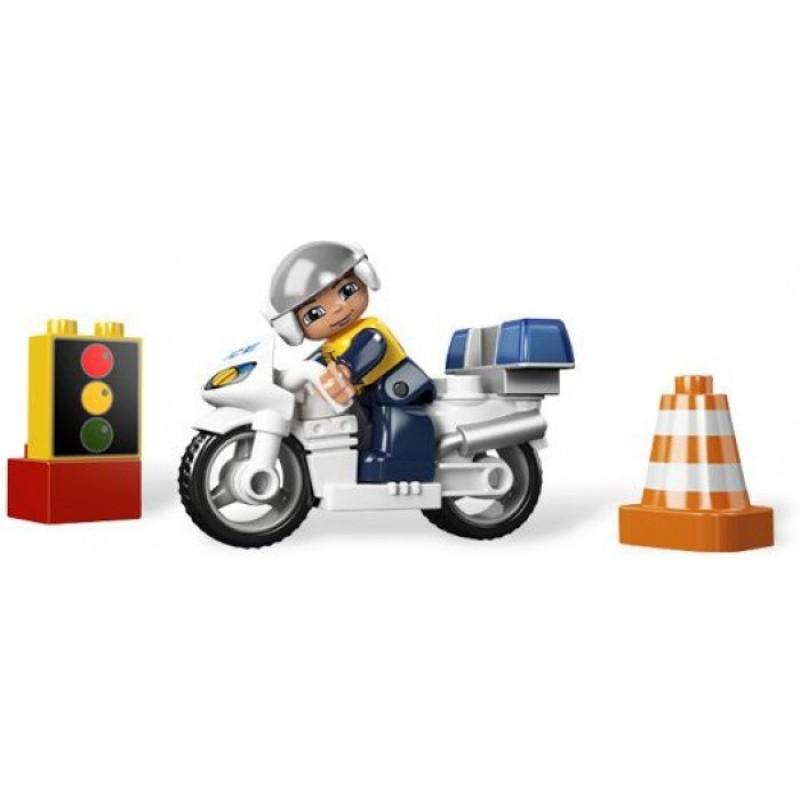 Lego 5679 Duplo Motor Policyjny Sklep Zabawkowy Kimlandpl