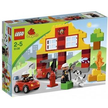 Klocki LEGO Duplo 6138 Moja pierwsza Remiza strażacka