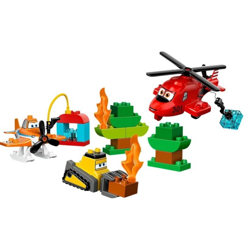 Lego 10538 Duplo Samoloty 2 Drużyna Strażacka Sklep Zabawkowy
