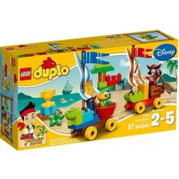 LEGO 10539 Duplo Pirat Jake Plażowy Wyścig