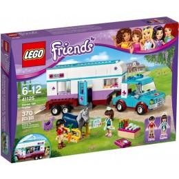 Klocki LEGO Friends 41125 Przyczepa Lecznicza dla koni