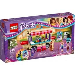 Klocki LEGO Friends 41129 Furgonetka z hot-dogami w parku rozrywki