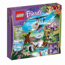 Klocki LEGO FRIENDS 41036 Dżungla Ratunek na Moście Niedźwiadka