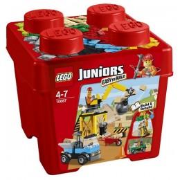 Klocki LEGO Juniors 10667 Plac Budowy