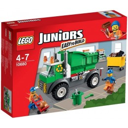 Klocki LEGO Juniors 10680 Śmieciarka