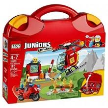 Klocki LEGO Juniors 10685 Walizeczka - Straż Pożarna