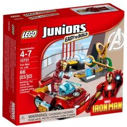Klocki LEGO Juniors 10721 Iron Man kontra Loki