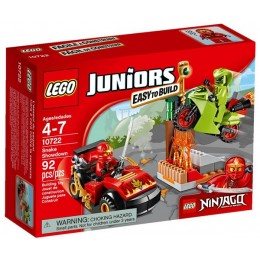 Klocki LEGO Juniors 10722 Starcie z Wężem